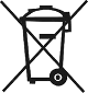 symbole poubelle